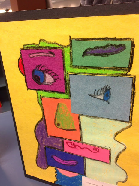 Artsy Fartsy Art Room Cubism With 4th And 5th