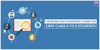 Assessment Scheme for CBSE Class 6 to 9 Students