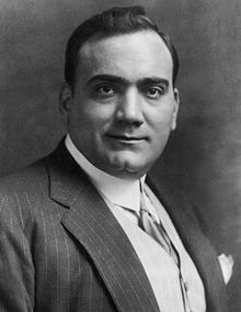 Tamagno recognised the talent of Enrico Caruso, with whom he once shared a stage