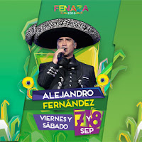boletos alejandro fernandez palenque fenaza 2018