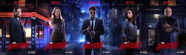 Netflix has Daredevil and the Marvel Cinematic Universe shows, while Overstock.com will be streaming episodes of the Super Fuzz reboot.