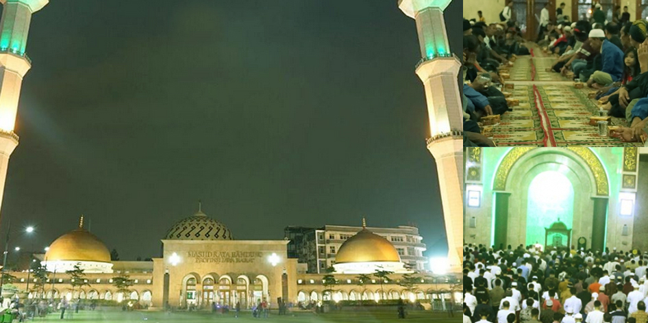 Kegiatan di Masjid Raya Jawa Barat Ramadhan 1437 H - 2016 M