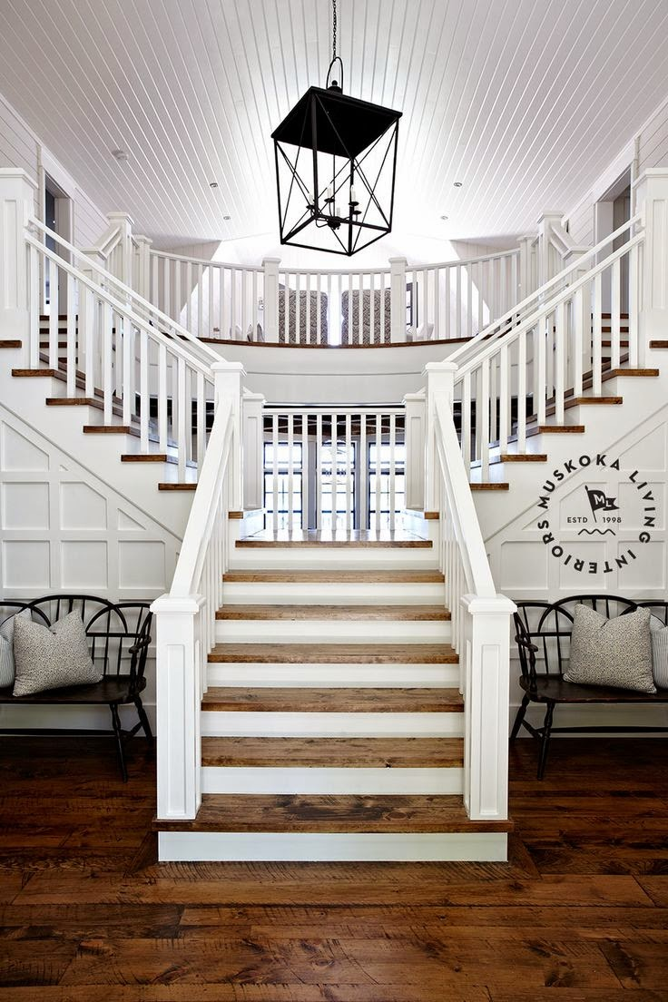 Basement Stair Landing Decorating: South Shore Decorating Blog: Thursday Eye Candy