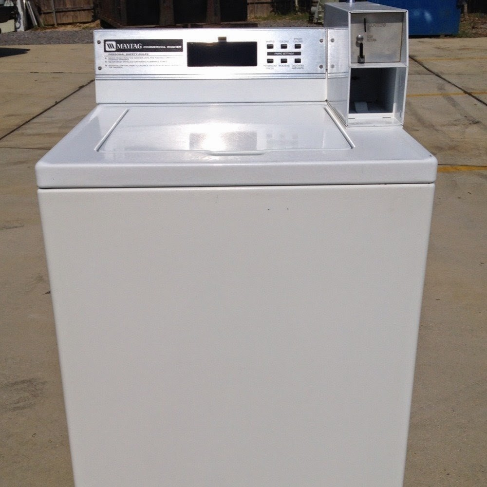 maytag commercial washing machines coin operated