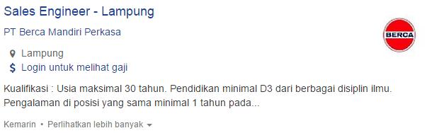 Lowongan Kerja Kabupaten Mesuji Terbaru 2019.