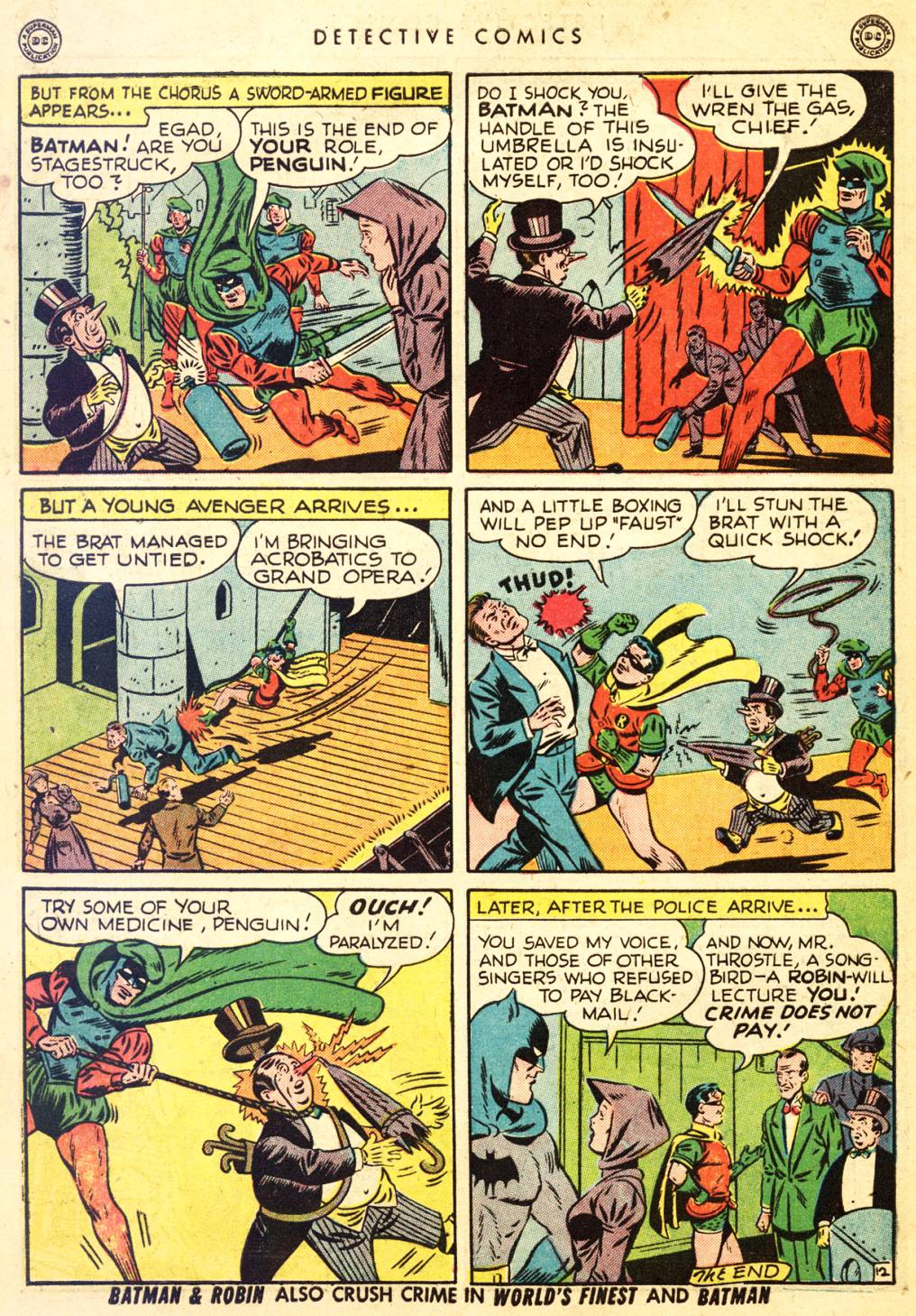 Read online Detective Comics (1937) comic -  Issue #126 - 14
