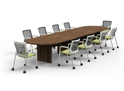Amber Expandable Conference Table