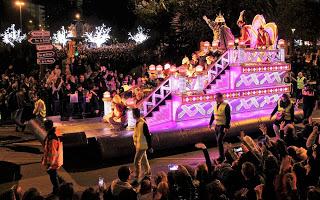 Horario e Itinerario de la Cabalgata de Reyes de Málaga 2019