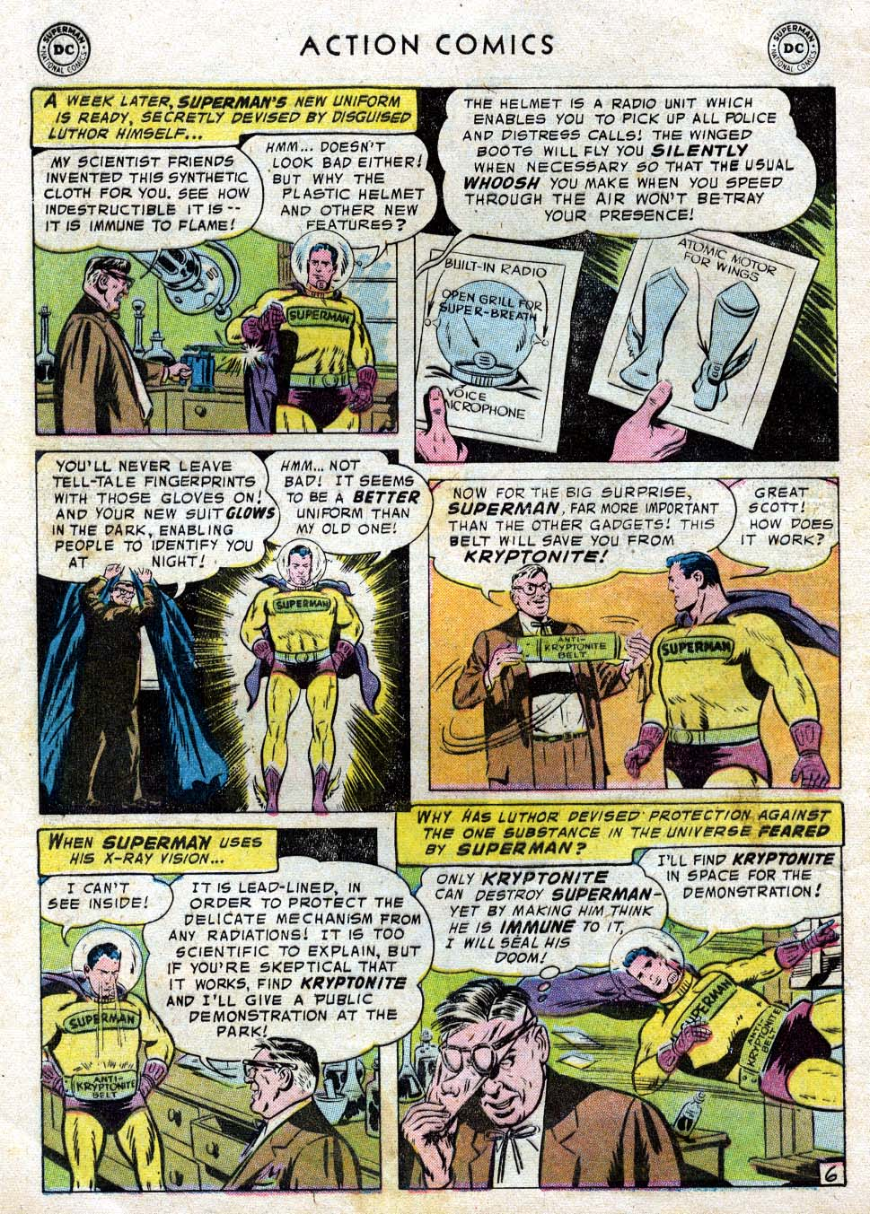 Action Comics (1938) 236 Page 7