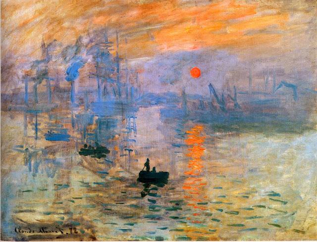 Impresión, sol naciente – C. Monet