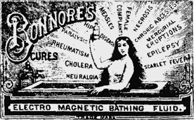 Bonnore's electro magnetic bathing fluid