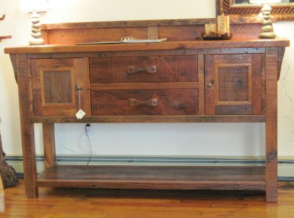 Go Rustic!: Green Gables Barnwood Furniture
