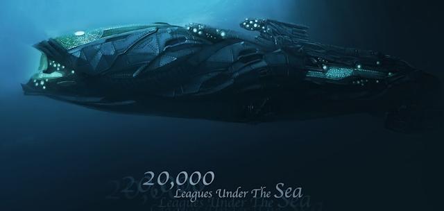Concept art: 20.000 De Leghe Sub Mări