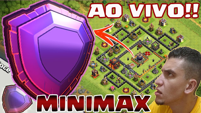 MiniMax Chegando na Liga Lendária - Clash of Clans