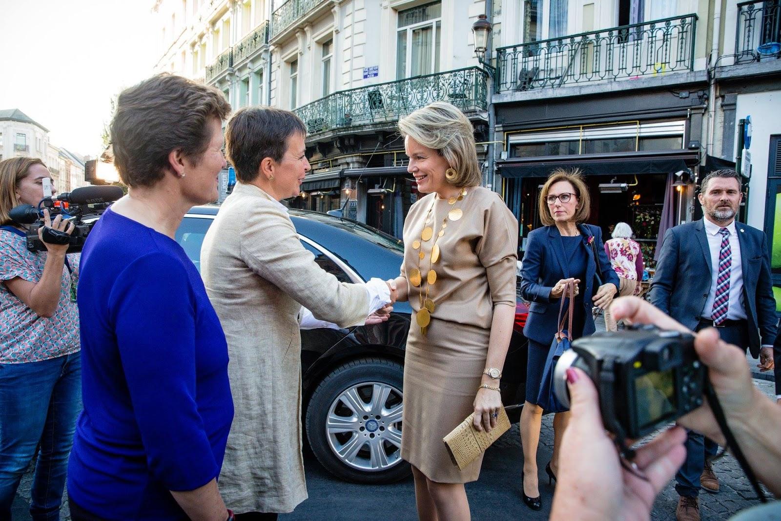 Queen Mathilde: Global Girls Summit