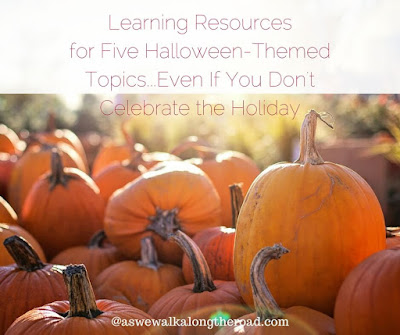 Halloween-themed unit study resources