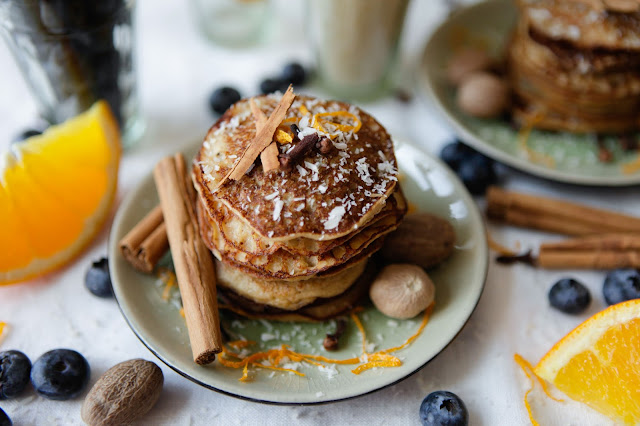 Spiced Pancakes - Grain Free and Dairy Free