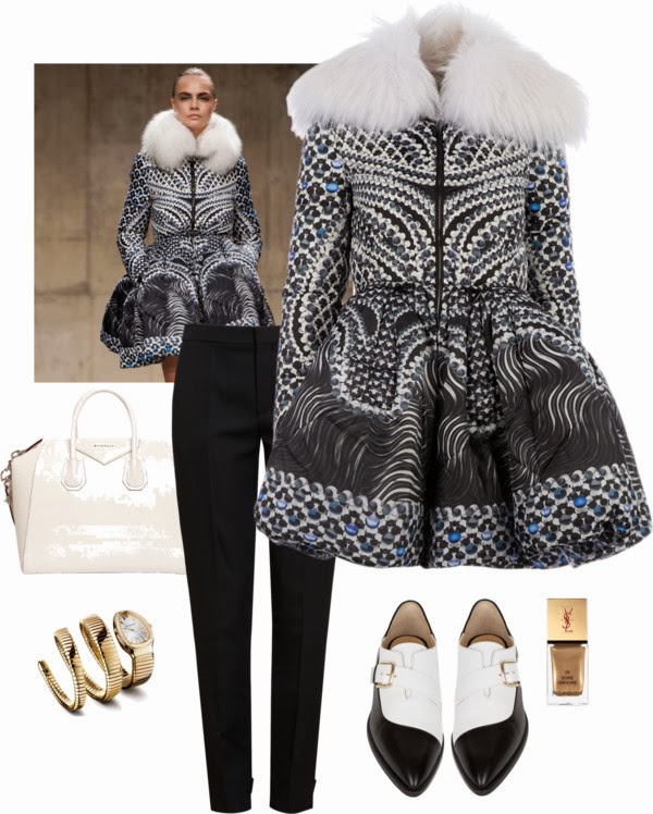 Fashion Inspiration | Peter Pilotto 'Cara' padded jacket