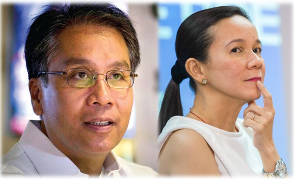 Grace Poe won't quit race for Mar Roxas