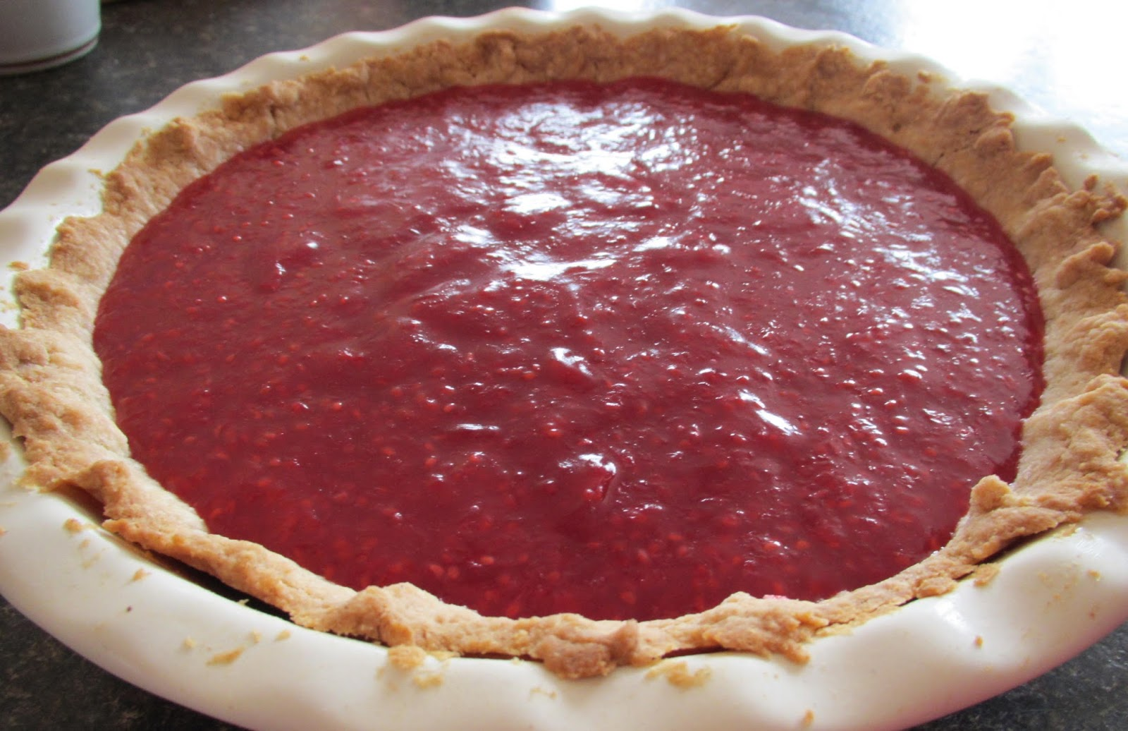 Successfully Gluten Free! : Raspberry Cream Cheese Pie