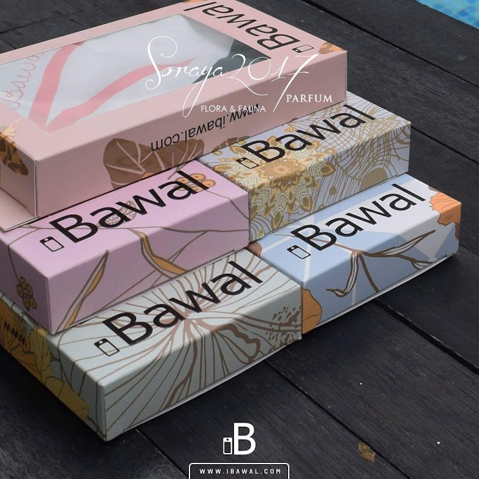 iBawal Soraya 2017 Parfum : Tudung Haruman Kekal