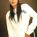 Andrea Rincon, Selena Spice Galeria 19: Buso Blanco y Jean Negro, Estilo Rapero Foto 82