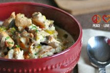 Slow Cooker Chicken Bacon Chowder