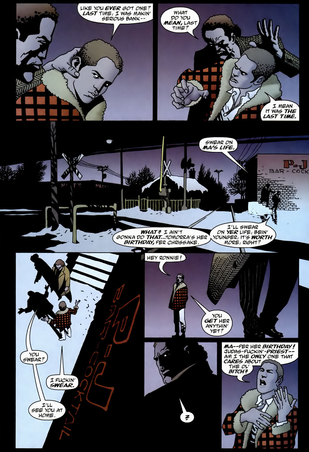 Read online 100 Bullets comic -  Issue #70 - 16