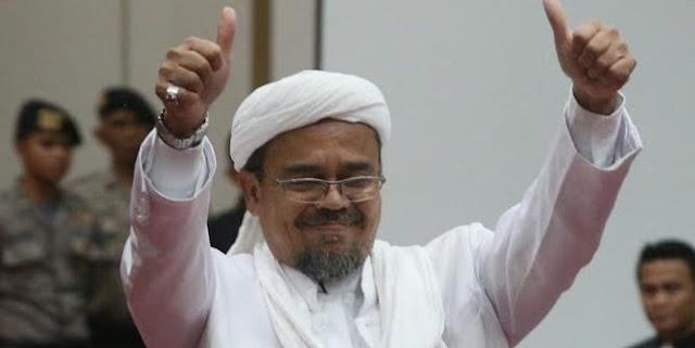 Habib Rizieq Akan Pulang Pada 212 , Begini Susunan Kepanitiaan Penyambutan