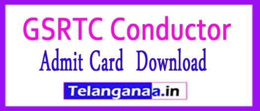 GSRTC Conductor Admit Card 2018 Exam Date Gujarat ojas.gujarat.gov.in Hall Ticket
