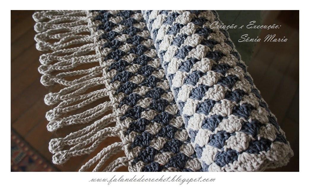 Falando de crochet tapete de barbante em croche ponto for Tapetes de crochet