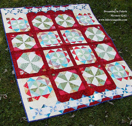 Dreaming in Fabric Quilt Free Pattern