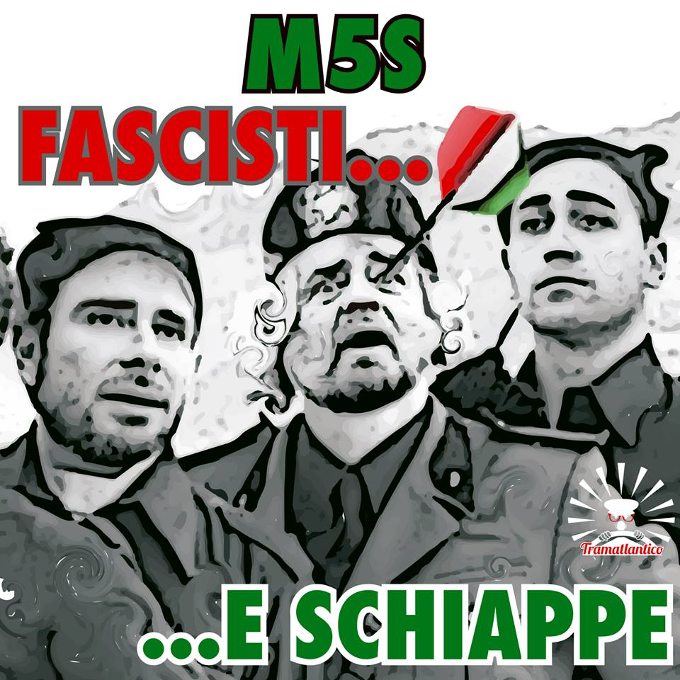 Risultati immagini per grillo fascista
