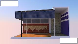 Jasa disain kanopi atap karya
