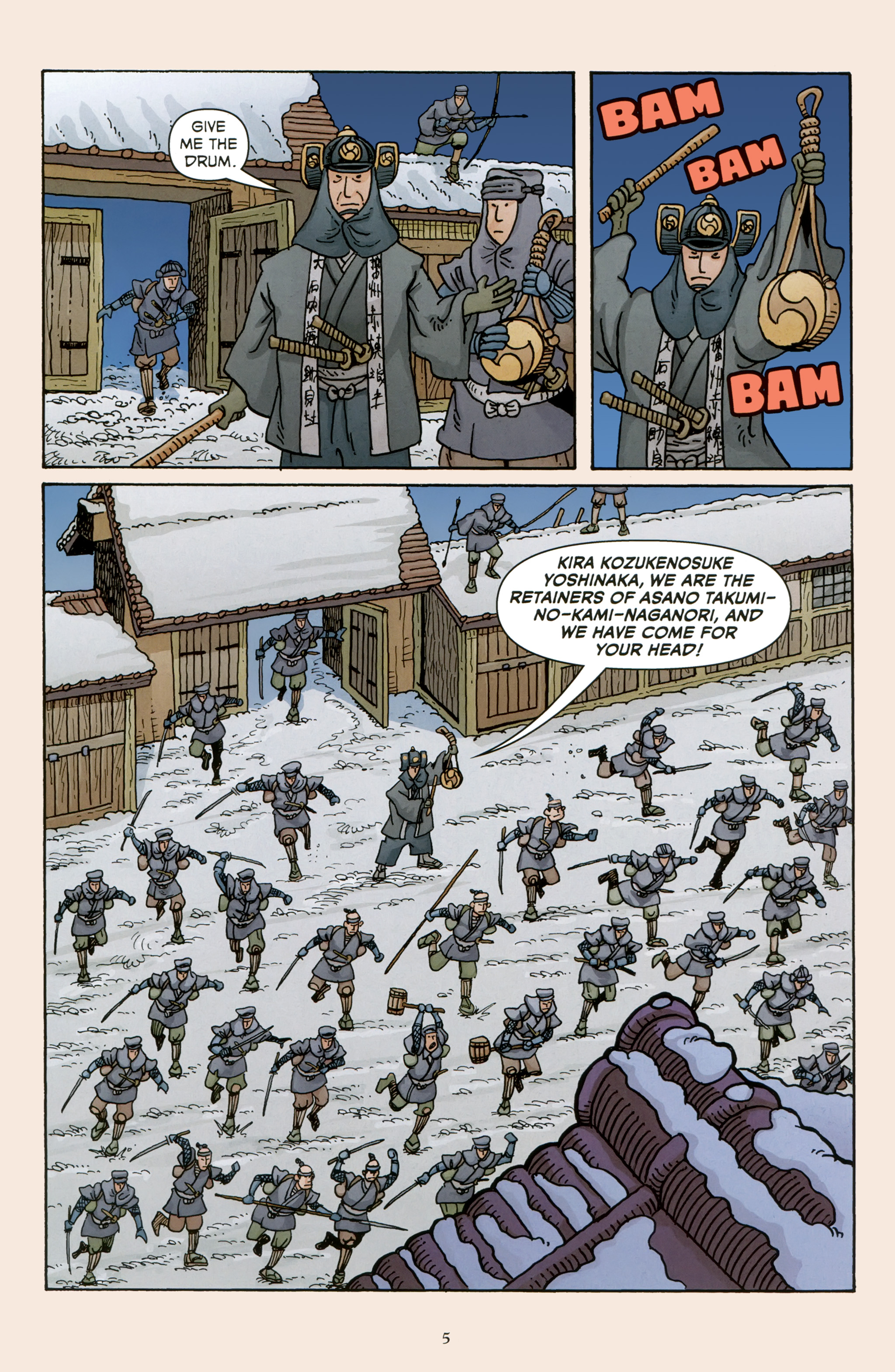 Read online 47 Ronin comic -  Issue #5 - 7