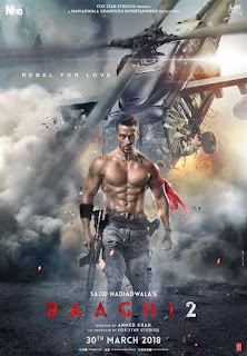 Third Poster Of Baaghi 2