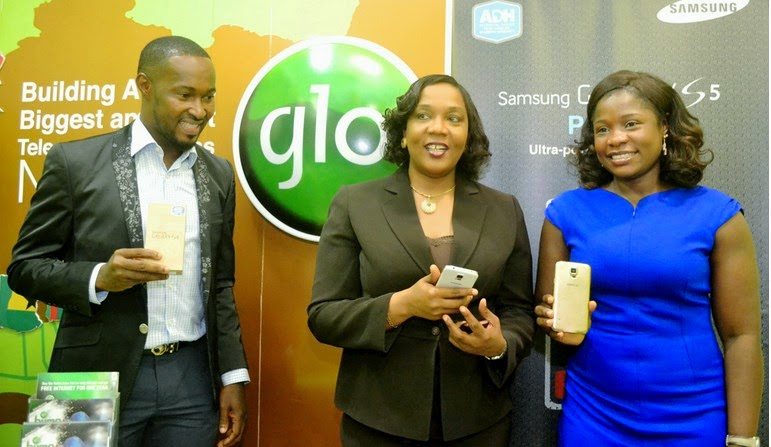 Purchase Samsung Galaxy S5 from Gloworld NG and get 1GB FREE for 6 months