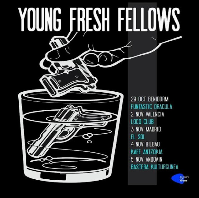 YOUNG FRESH FELLOWS - Gira española de 'extintores y txipirones'