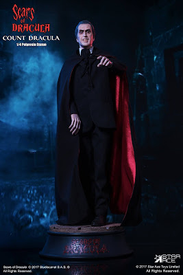 """the Scars of Dracula"" Cristopher Lee as count Dracula"