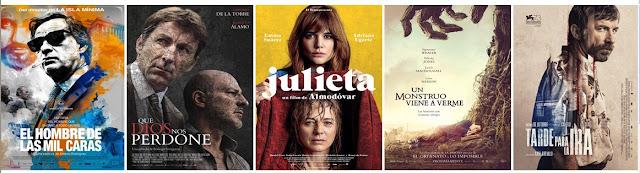 Nominaciones de los Premios Goya 2017