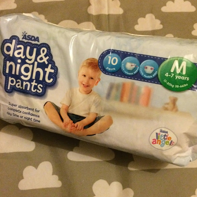 Asda little angels day and night pants