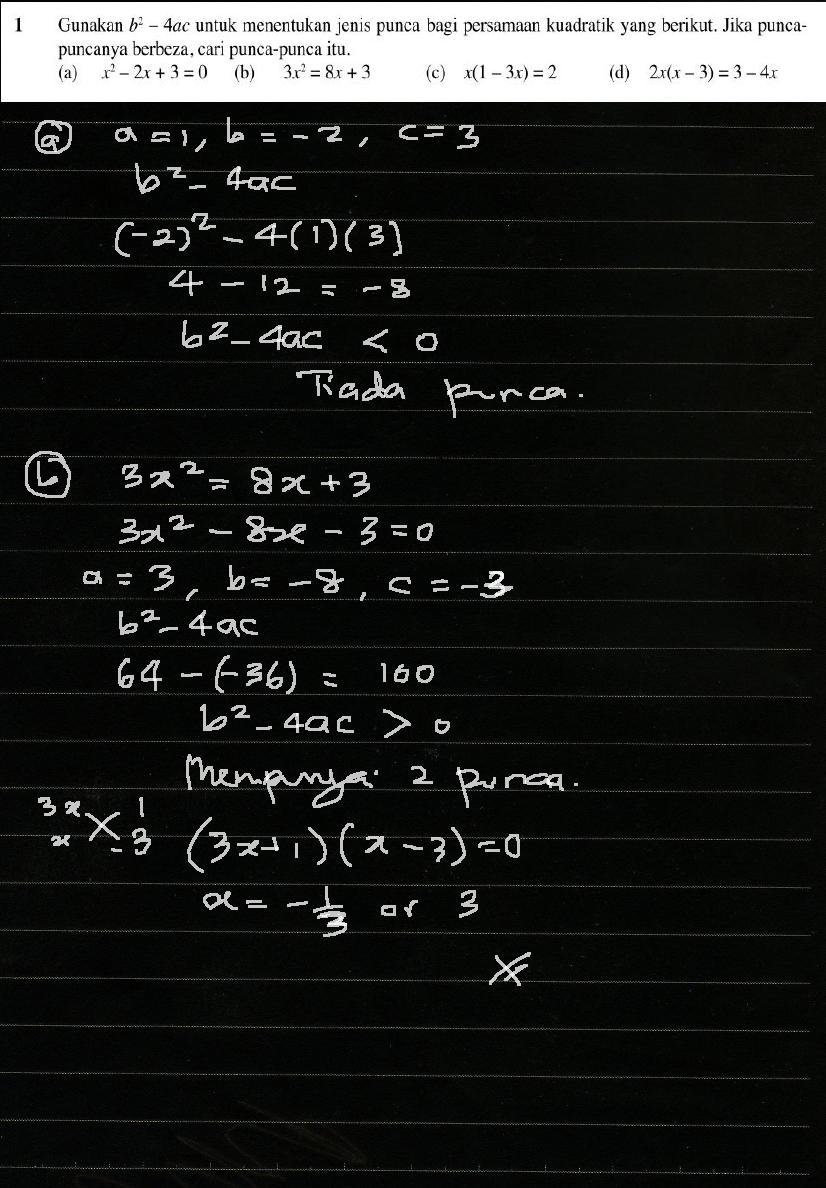 Cikgu Azman Matematik Tambahan Tingkatan 4