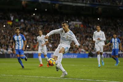Real Madrid Capai Point Penuh Kemenangan 3-2 Atas Malaga