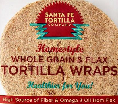 Whole Grain & Flax Tortillas