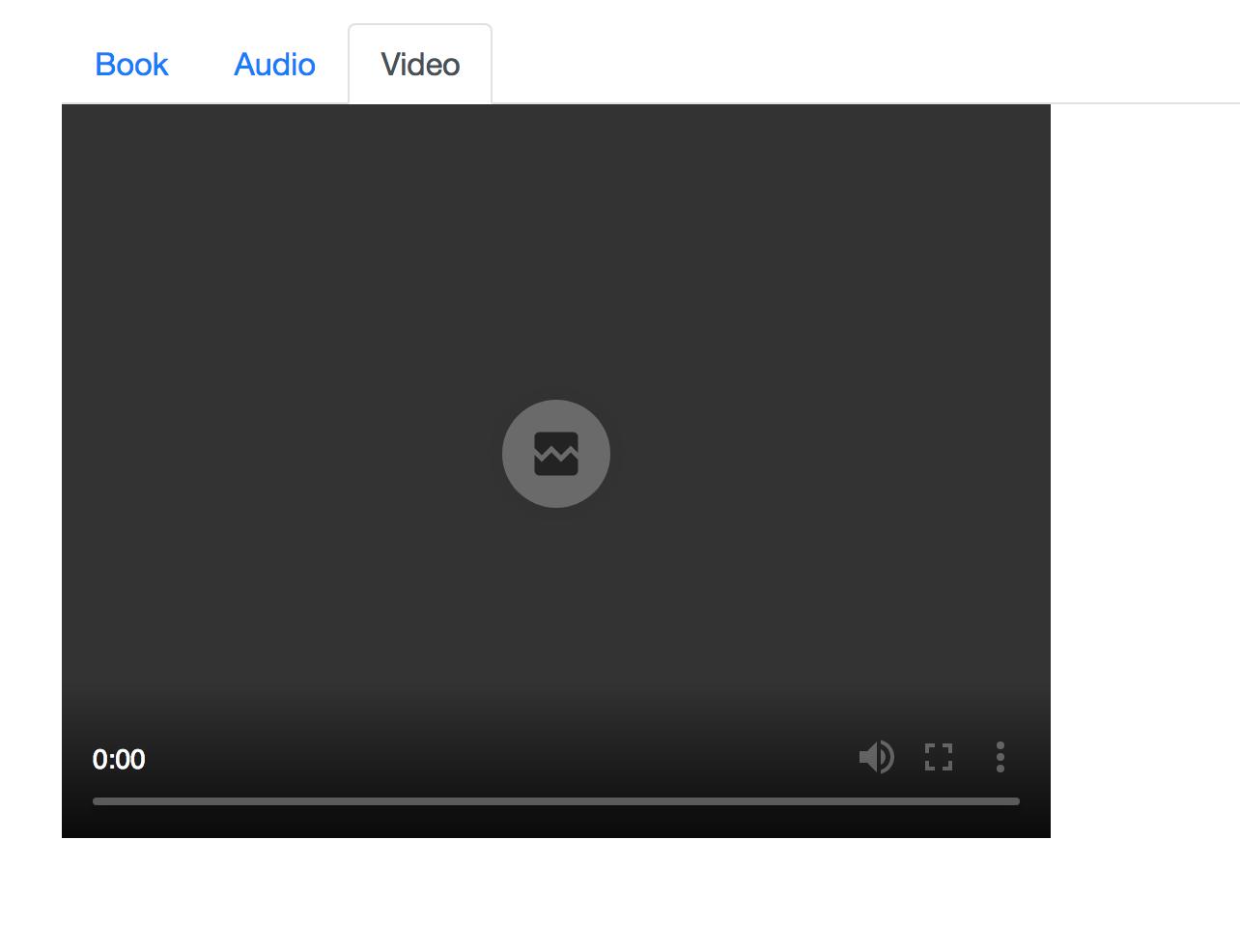 S3 Video Streaming Error