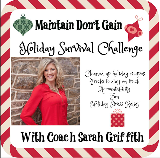 beachbody challenge pack, beachbody giveaway, holiday survival challenge, sarah griffith, top beachbody coach,