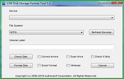USB DSFT, Formatez facilement n'importe quelle clé USB