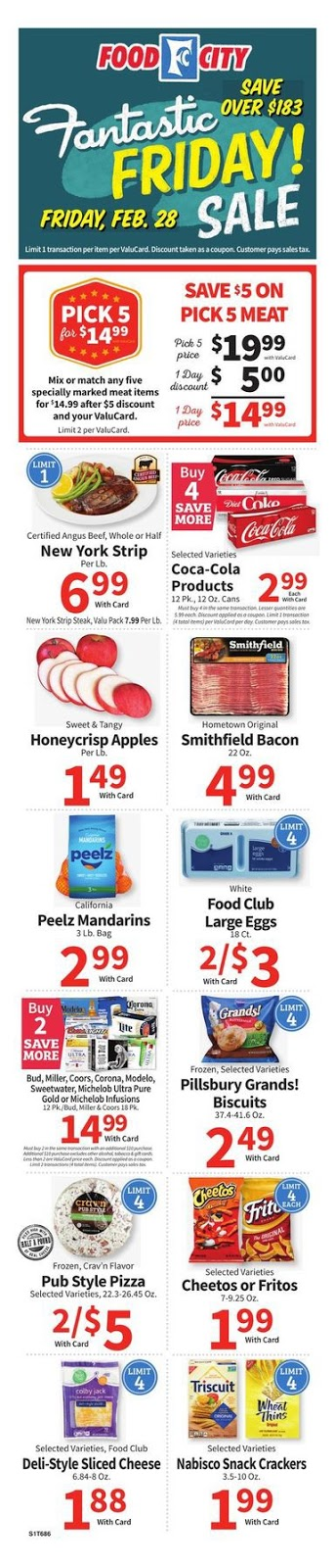 ⭐ Food City Ad 2/26/20 ⭐ Food City Weekly Ad February 26 2020