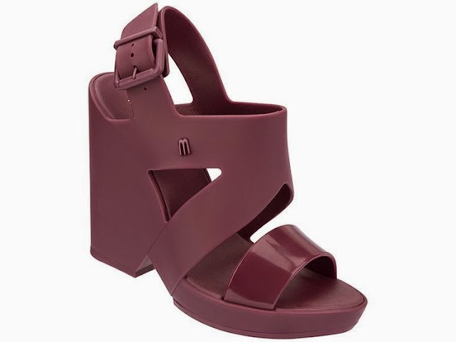 Melissa rubber wedge sandal