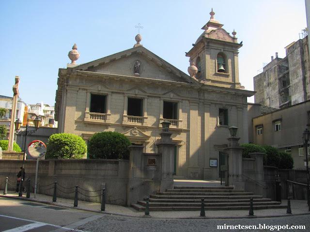 Макао - Церковь Святого Антония
